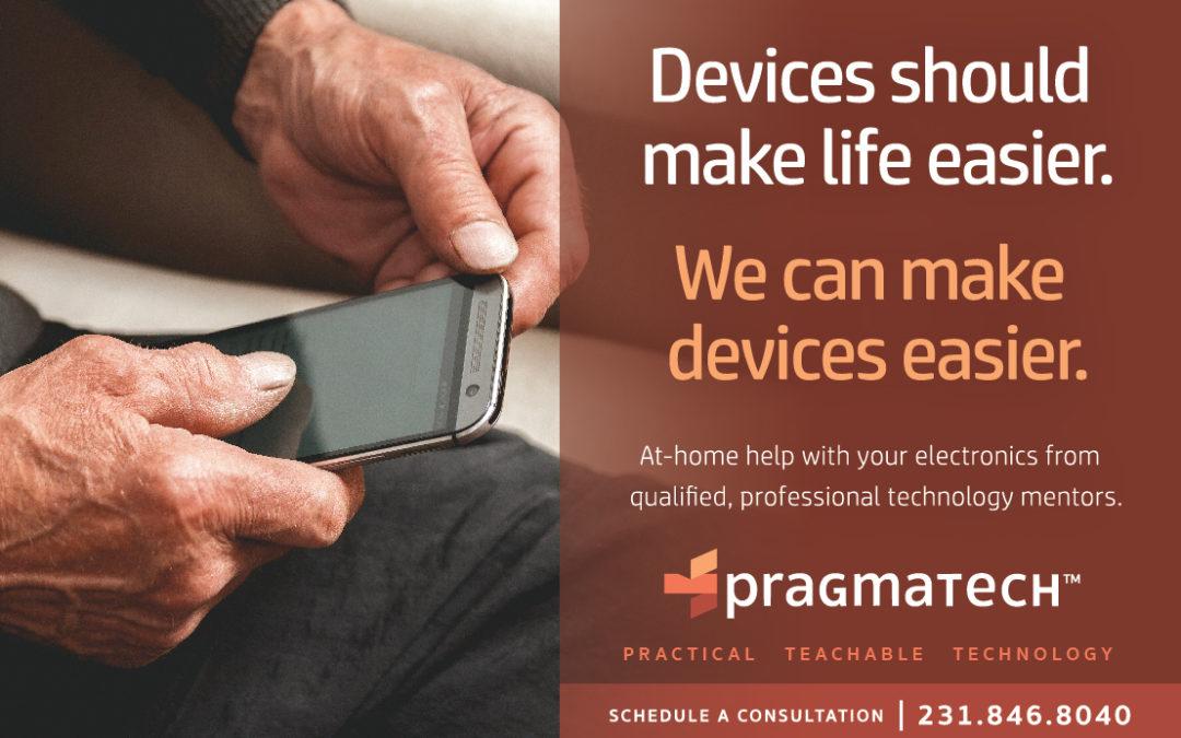 Pragmatech Print Advertisement