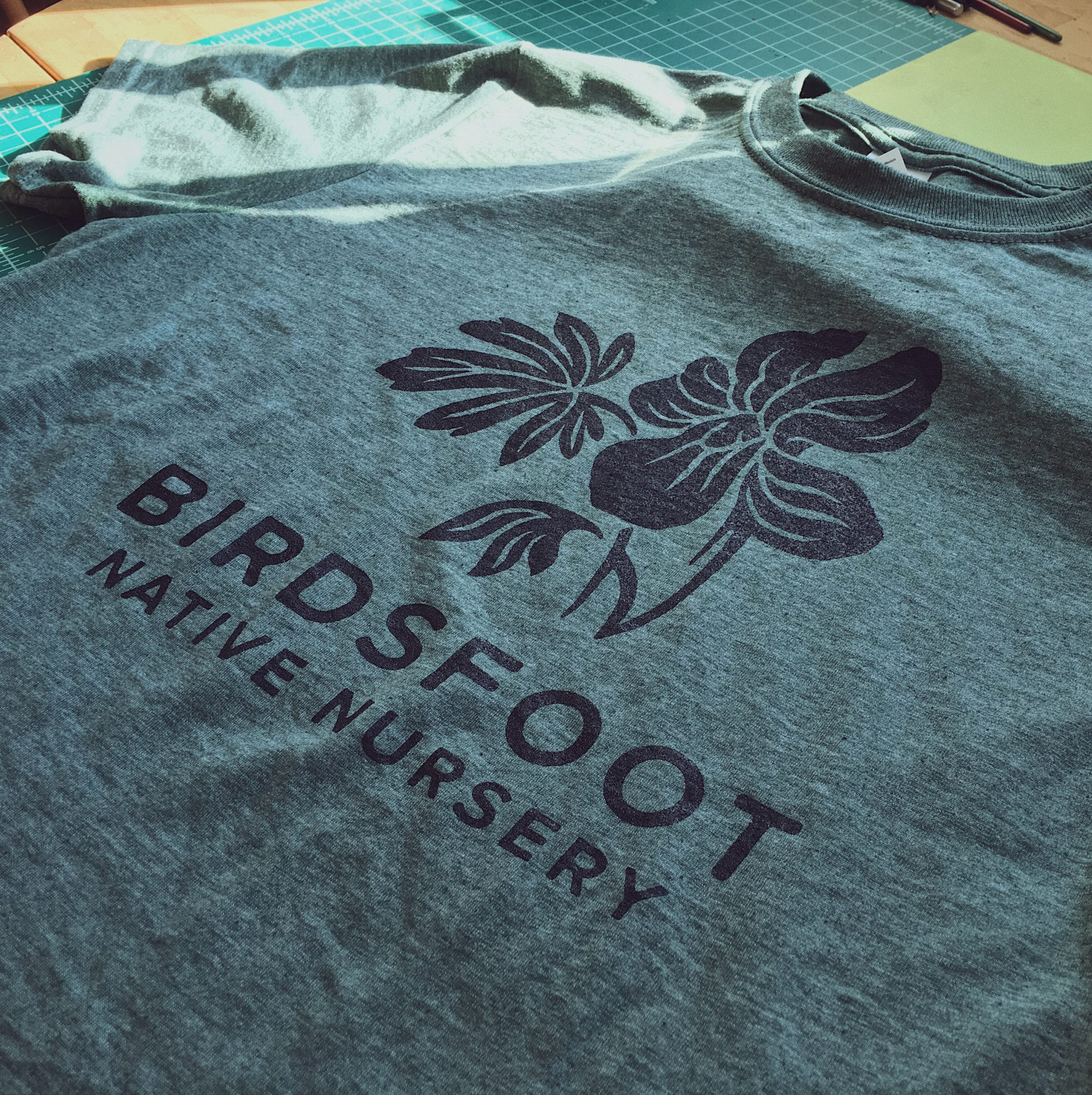 Birdsfoot Native Nursery Logo