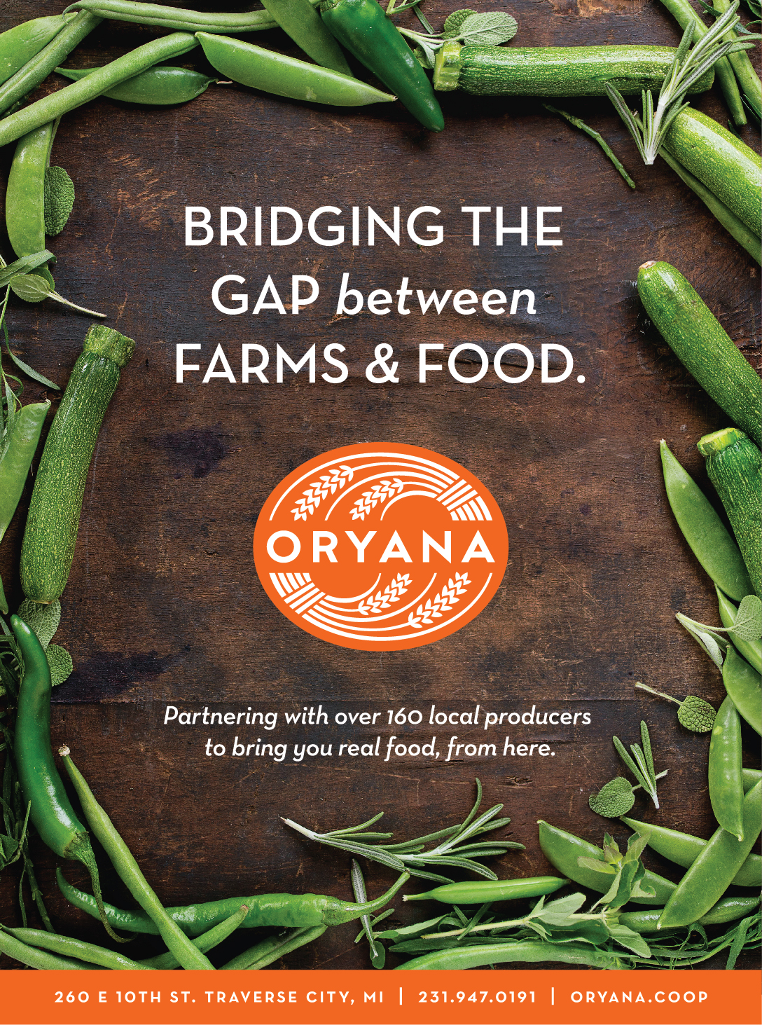 Assorted Advertising for Oryana Community Co-op